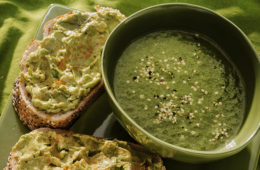 Hemp Soup Avocado Toast