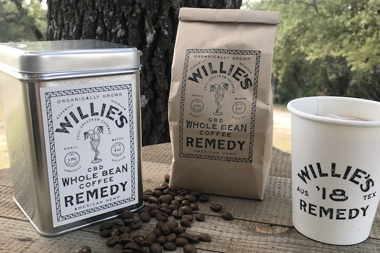 Willie's Reserve Coffee Hemp Products Willie Nelson HEMP