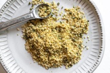 Hemp Parmesan Vegan Cheese Non-Dairy Dairy Free Nut Free